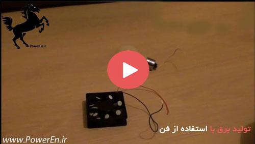 تولید برق با استفاده از فن