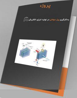 پروژه به کارگیری پیل سوختی در تولید انرژی الکتریکی