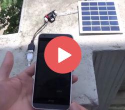 شارژر خورشیدی