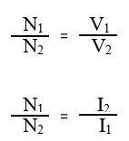 نسبت تبدیل ترانسفرماتور