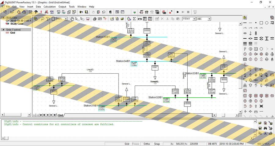 نتیجه اصلی شبیه سازی پروژه دیگسایلنت