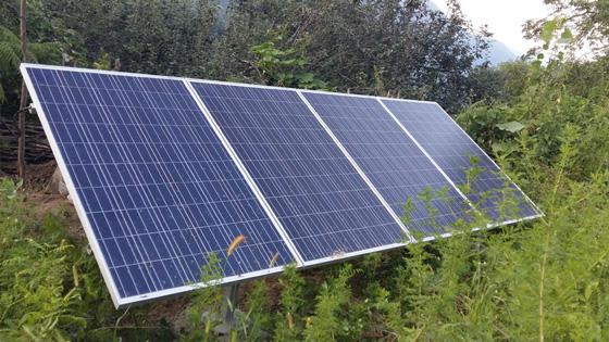 نیروگاه خورشیدی در روستاها