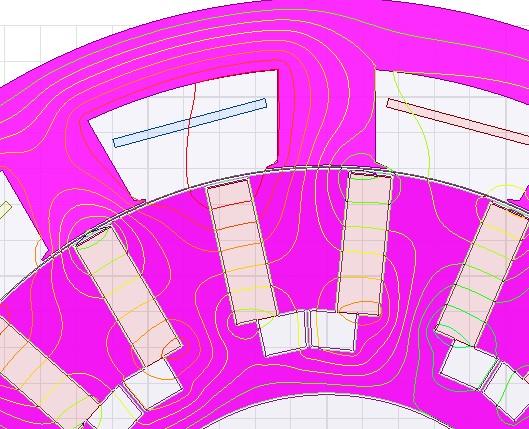 مسیر شار در ساختار اولیه از نزدیک