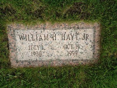 سنگ قبر ویلیام هیت