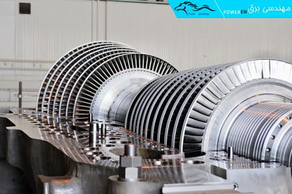 توربین بخار نیروگاه سیکل ترکیبی