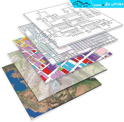 لایه های نقشه برداری