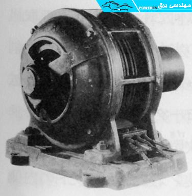 نخستین موتور سه فاز القایی شرکت یاسکاوا درسال 1296