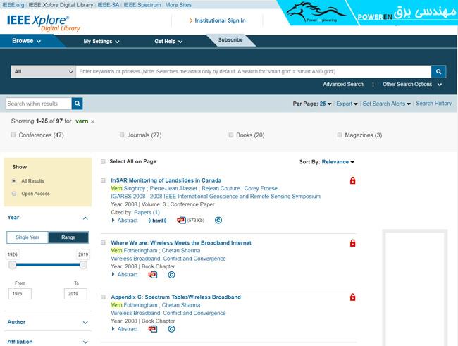 جستجوی مقاله در وب سایت ieeexplore.ieee.org