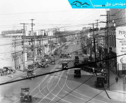 شبکه برق محلی، آمریکا 1920