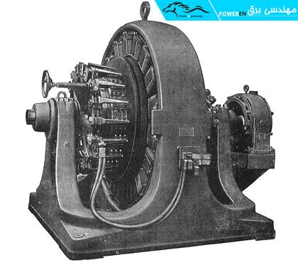 نمونهای از مجموعه موتور – ژنراتور