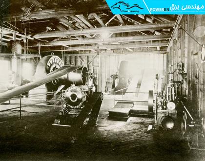 نیروگاه روغنی تولید برق شهر هارتفورد در سال 1897