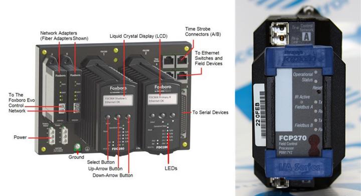 سمت راست= مدل FCP270 سمت چپ= FCP280